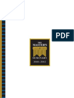 The Master's Seminary Catalog 2012