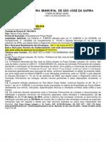 Edital de Sao Jose Da Safira (1)