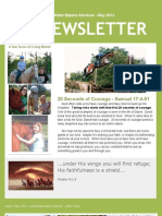 Living Water Equine Services Newsletter