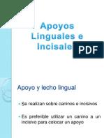 Apoyos Linguales e Incisales.pptx