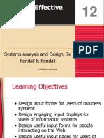 Kendall7e_ch12 Designing Effective Input