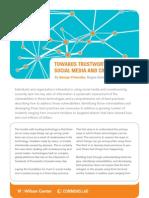 Towards Trustworthy Social Media and Crowdsourcing