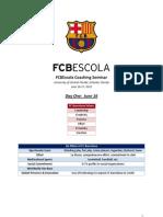 FCB Escola Coaches Seminar-Day 1