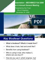 Biodiesel Kenfryer