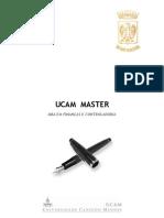 UCAMMaster MBA Financas Controladoria