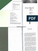Jacques Rancière - Política, policía, democracia.