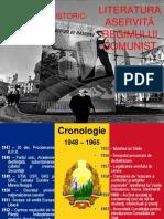 LITERATURA ASERVITĂ REGIMULUI COMUNIST[1]