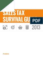 Sales Tax Survival Guide 2013