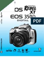 Manual Oficial Canon EOS Digital Rebel XT EOS 350D Digital [Es]
