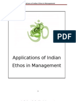 Applications of Indian Ethos in Management