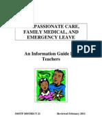 Compassionate Care Booklet
