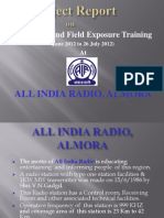 ALL INDIA RADIO PPT
