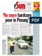 thesun 2009-03-31 page01 no more hardcore poor in penang