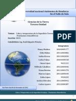 Informe Ciencias de La Tierra (Tercera Unidad , Grupo