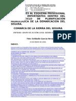 Alegaciones Albacete Plan Hidrológico Cuenca Segura