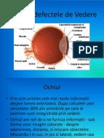 Ochiul Si Defectele de Vedere
