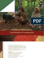 Pueblos Indígenas. Tres Historias. Un compromiso