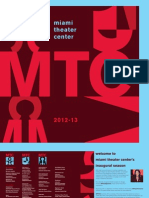 Season Brochure 2012 - 2013