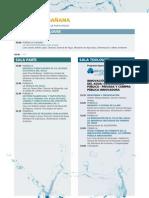 Programa Foro Agua 2013
