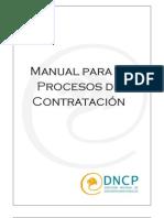 Manual Contrataciones