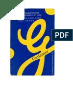 Gadamer- La Actualidad de Lo Bello