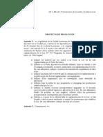 Expte. 224-D-2013.- Proyecto de Resolución. Informes referidos a la falta de reglamentación de la Ley Nº 729