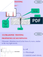 Ultrasonic test