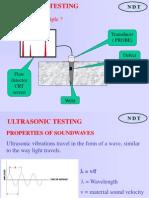Ultrasonic test