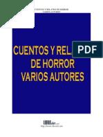 Varios Autores - Cuentos y Relatos de Horror