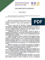 Avantaje Si Riscuri in Utilizarea E-learning