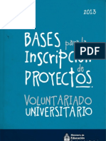 Bases Convocatoria 2013
