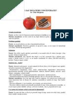 Calin Marginean - Fructe Sau Dulciuri Concentrate