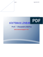 Sistemas Lineares Cramer