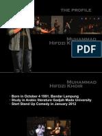Profile Hifdzi Khoir (April 2013)