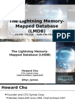 The Lightning Memory-Mapped Database (LMDB)