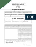7.Instructivos de Evaluacion, TUTOR INDUSTRIAL