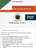 Energi Dan Neraca Energi