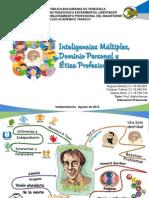 Inteligencia Multiples Dominio Personal y Ética Profesional