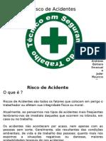 Apresentação risco de acidente