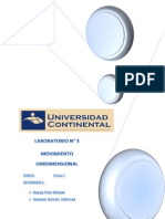 Movimiento Unidimensional