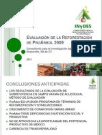 5 Evaluación de la Reforestación de ProÁrbol 2009.ppsx