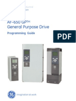 AF-650 GP Programming Guide