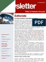 Newsletter T&P N°67