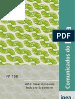 2012 - Desenvolvimento inclusivo sustentável