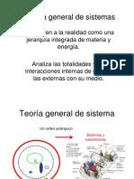 Teoría general de sistema ii