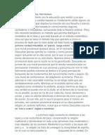 Disertaciones Descartes