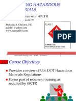 49cfr Shipping Hazardous Materials