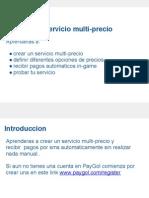 Aprende a crear un servicio multiprecio usando paygol