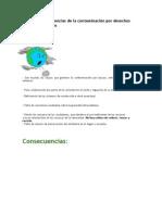 Causas y consecuencias de la contaminación por desechos sólidos domésticos