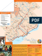 Carte Agrotourisme - Tourisme Mauricie